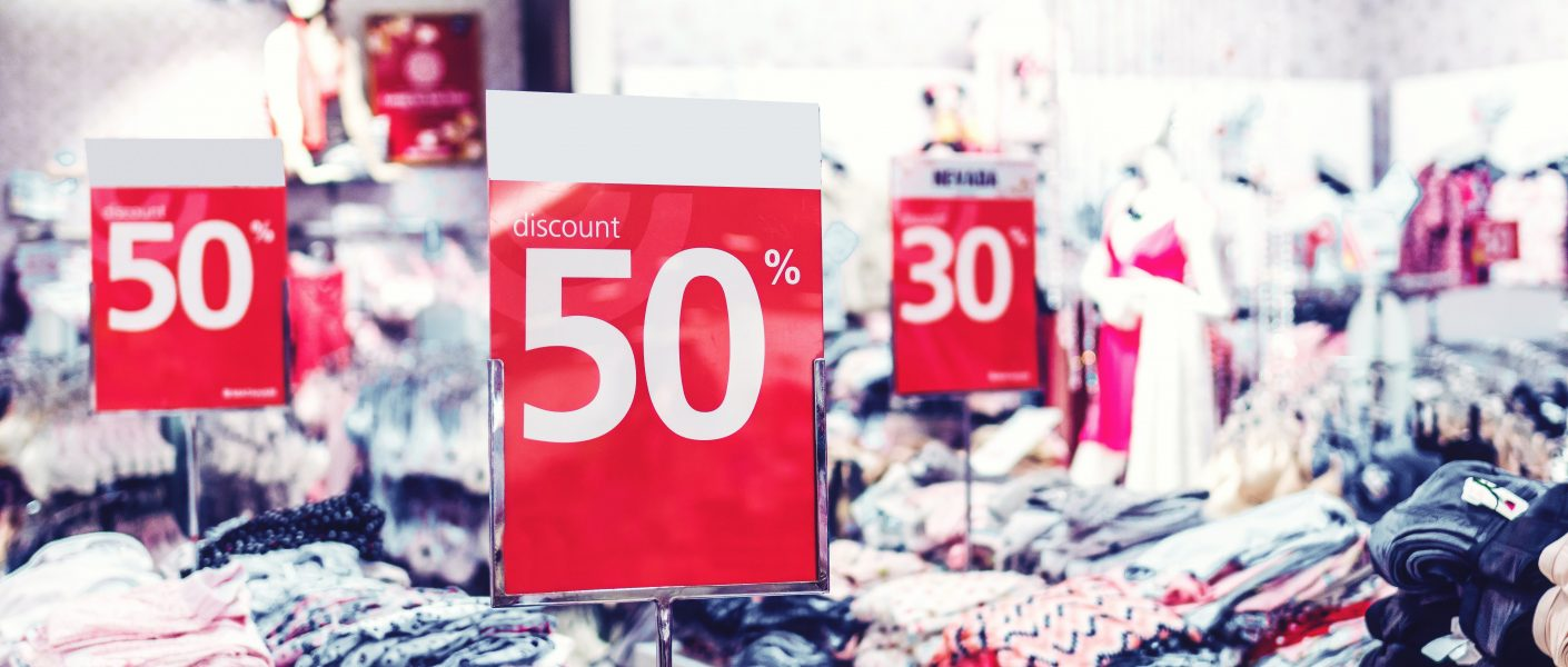 Sales and Discounts when shopping online