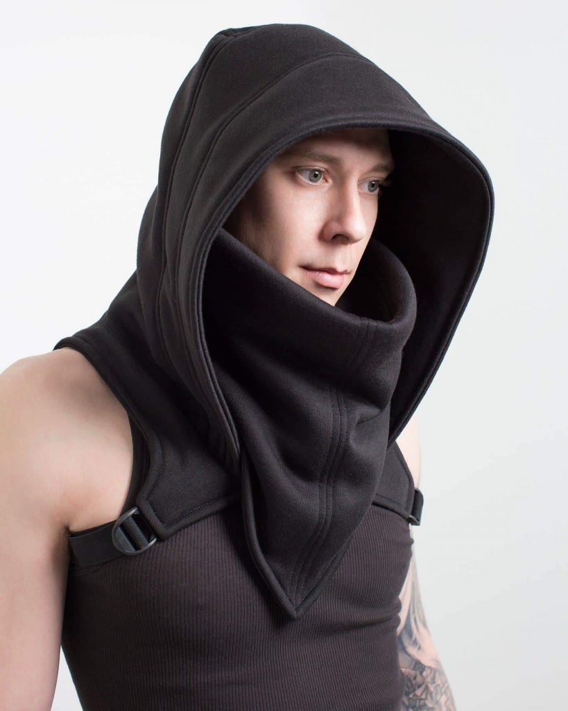 Crisiswear hooded cowl